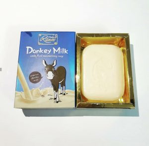 خرید صابون شیر الاغ